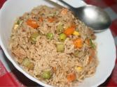 Microwaved Spicy Vegetable Rice