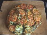Tomato, Spinach & Red Onion Frittata