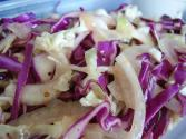 Shredded Tri-color Cabbage Salad