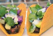 Chorizo And Black Bean Taco