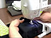 How To Repair The Hem On Cuffed Pants Using A Sewing Machine (tutorial)