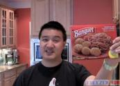 Review Of Banquet Popcorn Chicken And Spaghetti Meal