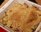 Rhubard Crumble