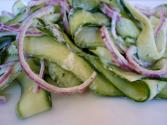 Ribbon Cucumber Salad