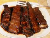 Ribs And Barbecue Sauce