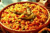 Garlic Spanish Rice With Tomato