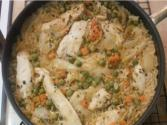 Easy And Delicious Skillet Chicken And Rice