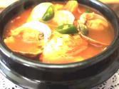 Korean Food: Spicy Extra Soft Tofu Soup (순두부 찌개)