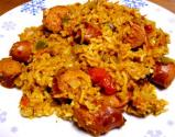 Rice With Hot Sausages