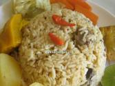 Rice With Meat - Ceebou Yapp - Senegalese Cuisine