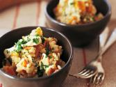 Honey Baked Pumpkin Risotto