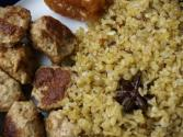 Risotto With Sausage Burgers