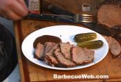 Barbecued Beef Roast