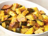 Roasted Acorn Squash With Pumpkin Seed Oil