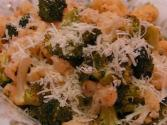 Roasted Broccoli And Cauliflower With Cheese