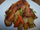 Roasted Jerk Chicken And Potatoes