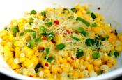 Roasted Corn With Lime And Parmesan