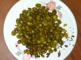 Spicy Roasted Green Peas