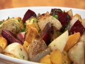 Roasted Winter Vegetables Hd
