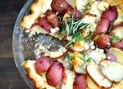 Rosemary New Potato Tart