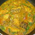 English Style Lamb Curry