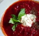Green Cabbage Russian Borscht