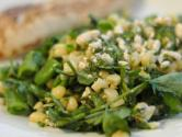 Corn And Snap Peas Summer Salad