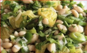 Orange White Bean Salad