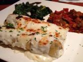Salmon Cannelloni With Creamy White Sauce