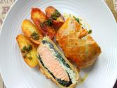 Salmon En Croute 