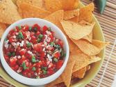 Seasonal Fruit Salsa With Pork Cutlets