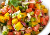 Tomato Pineapple Corona Salsa
