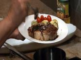 Sarah's Simple Solutions Episode 40 - Grilled Pork Chops W/ Balsamic Vinegar