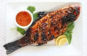 Saucy Grilled Trout