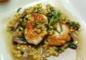 Stir Fried Chicken With Fresh Corn, Mushroom And Herbs