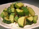 Sauteed Cucumbers