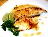 Pescado A La Plancho ( Sauteed Fish In Garlic, Citrus, Butter)