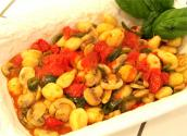 Sauteed Vegetable Gnocchi
