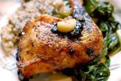 Savory Glazed Chicken Quarters