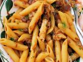 Savory Sausage And Spinach Penne