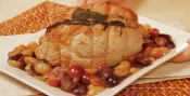 Veal Roast With Grapes
