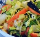 Scrumptious Asian Style Romaine Salad