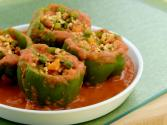 Stuffed Capsicum In Tomato Gravy (diabetic)