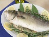 Sea Bass In A Salt Crust - Italian