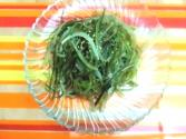 Korean Food: Fried Seaweed Stems ( )