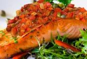Pan Seared Salmon Fillets With Tapenade