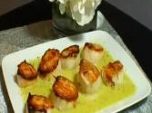 Seared Sea Scallop With Herb Nage