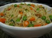 Healthy Vegetable Vermicelli Upma