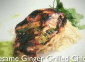 Easy Sesame Ginger Grilled Chicken