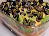 Seven Layer Dip - Mexican Cuisine